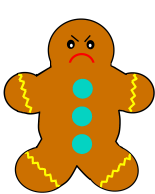 pictures of a gingerbread man